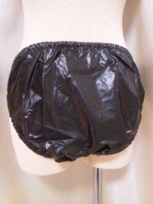 他の写真2: 大人用 防水パンツ/黒(ビキニタイプ)