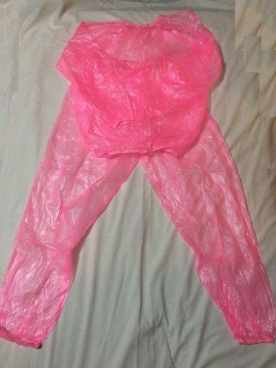 PVCの上下スーツです