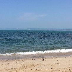 海へ行ってきました♪